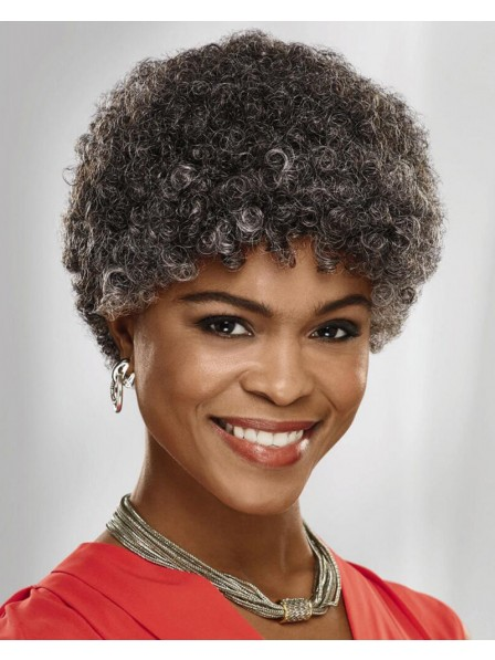 Fabulous Short Afro Wig Full Of Volume And