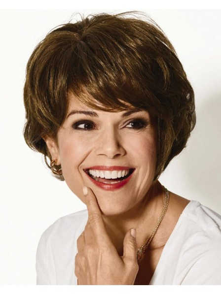 Sassy Short Wig With Rich Feathery Layers