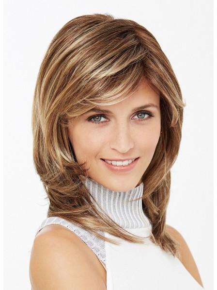 Shoulder Length Medium Length Layered Straight Hair 88
