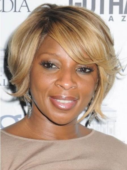 African American Black Women Short Blonde