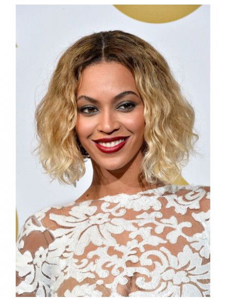 Beyonce S Soft Sexy Water Wavy Bob Hairstyle Wigs