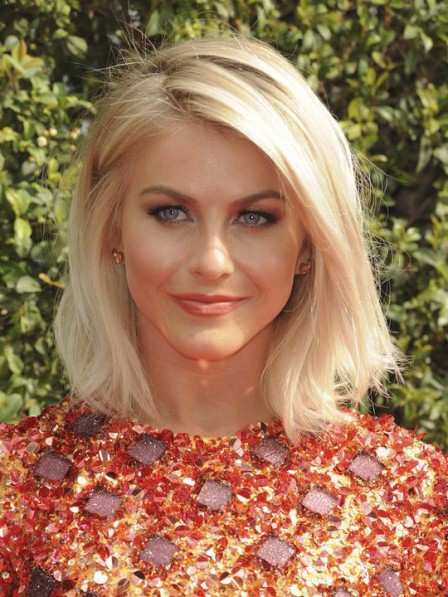Blonde Monofilament Synthetic Celebrity Wigs On Sale