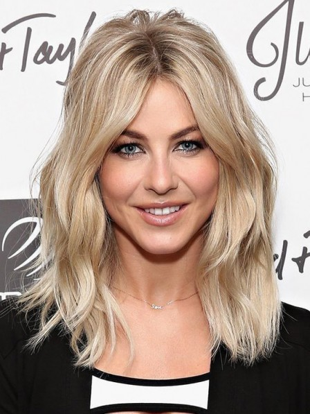 Blonde Remy Human Hair Celebrity Wigs New Arrival