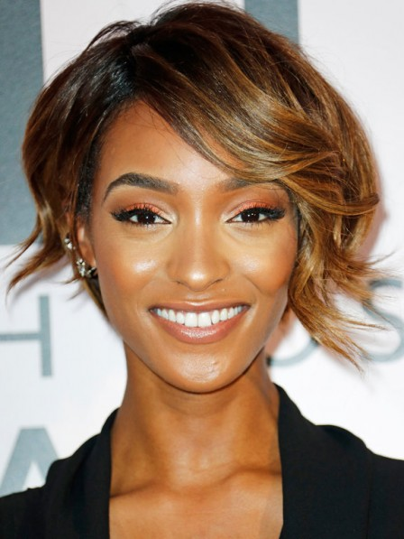 Cheap Short Synthetic African American Wigs