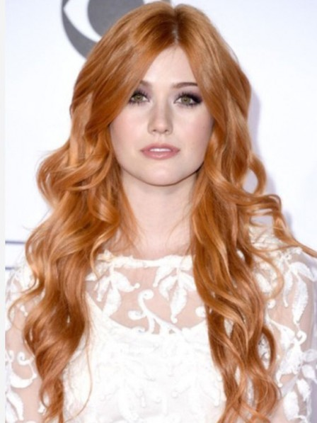 Curly Long Remy Human Hair Celebrity Wigs New Arrival