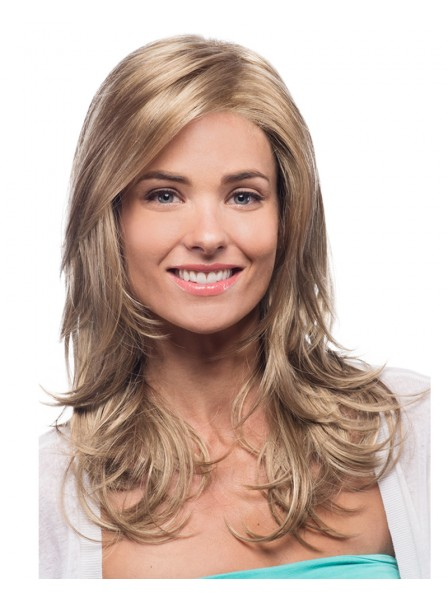 Estetica Lace Front long blonde Wigs