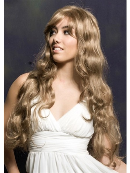 Extra Long Soft Layers And Wavy Curls Wig