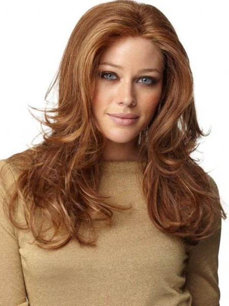 Long Layered Waves Lace Front Wig