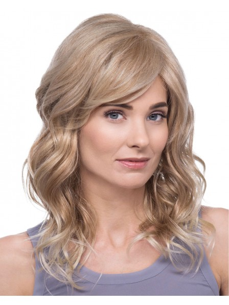Long layers and luscious waves lace front Mono top wig