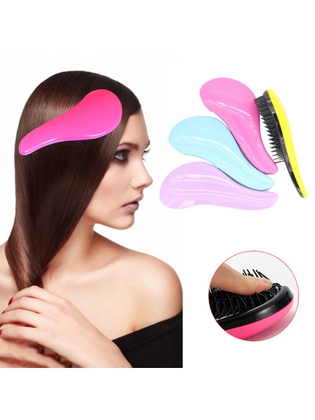 Magic Hair Comb Brush Rainbow Hairbrush Hair Shower Salon Tool