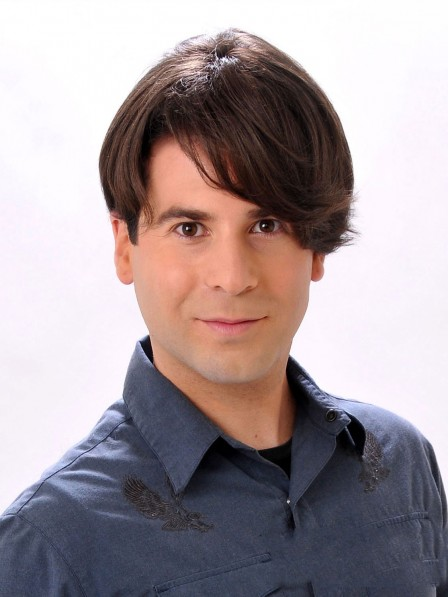 Men's Lace Front Human Hair Wigs