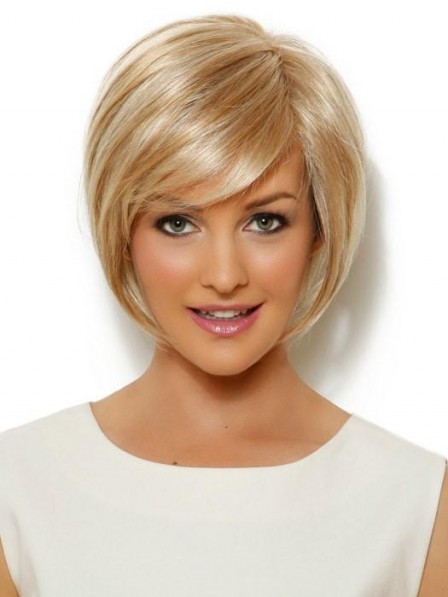 Modern Synthetic Lace Front Short Bob Wig