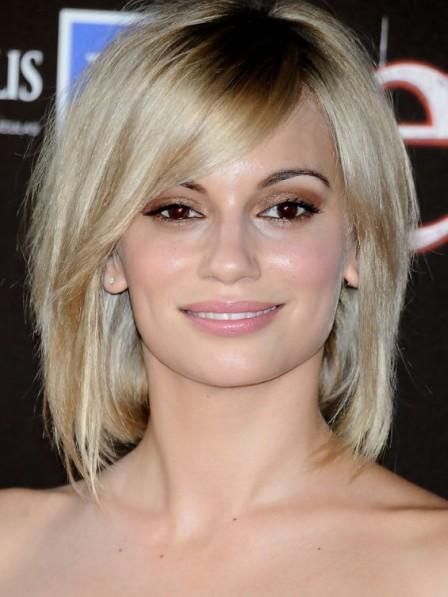 Norma Ruiz Short Layered Bob Straight Human Hair Wig