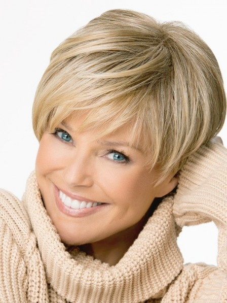 Capless Straight Short Human Wig