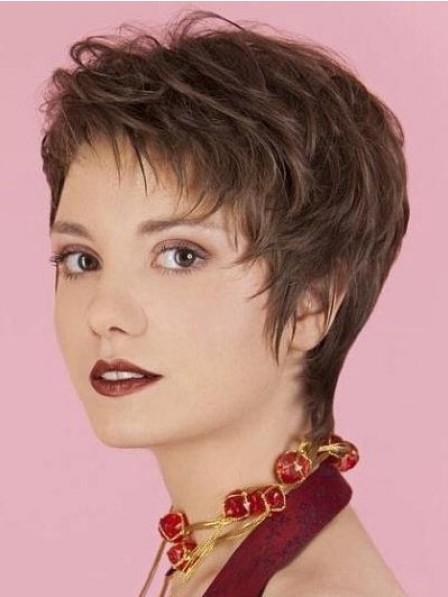 Elegant Lace Front Short Haircut Women Wig
