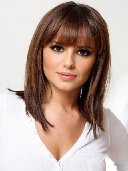 Perfect Shoulder Length Capless Synthetic Hair Wig