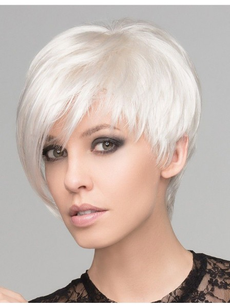 Pixie Cut Ladies White Wig Rewigs Com