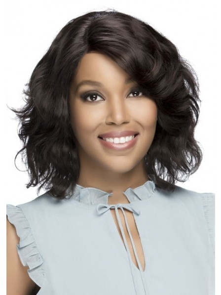 Remi Natural Brazilian Swiss Lace Front Human Hair Wig