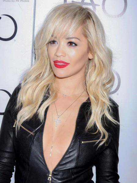 Rita Ora's Blonde Human Hair Wig