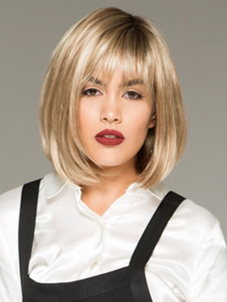 Synthetic Lace Front Monofilament Bob Wig