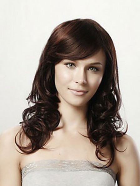 Body Wavy Human Hair Capless With Side Bangs