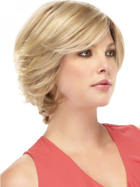 Synthetic Hair Short Wavy Lace Front Hair Wig