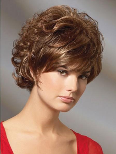 Synthetic Short Wavy Hair Wig