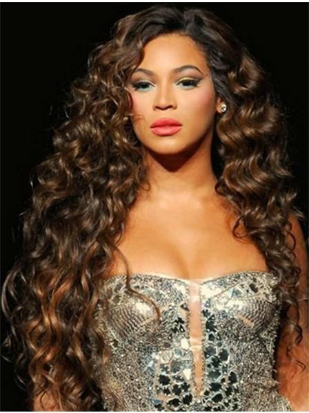 Deep Wavy Lace Front Monofilament Long Hair Wig