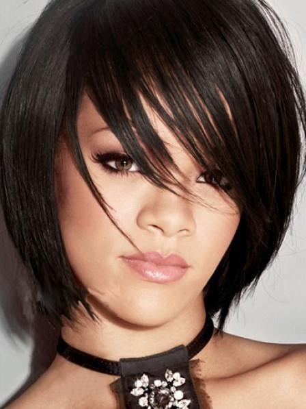 Short Straight 100% Human Hair Wig