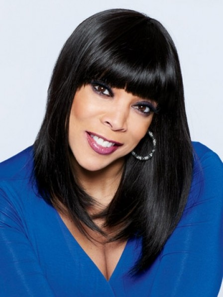 Wendy Williams Human Hair With Full Lace Women Wigs deb4443e9