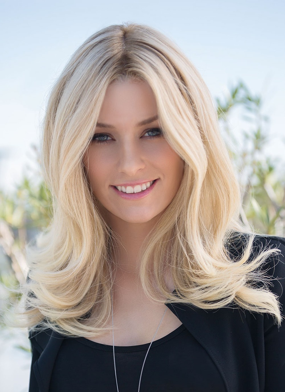 Medium Blonde Lace Front Human Hair Wigs For Ladies Best