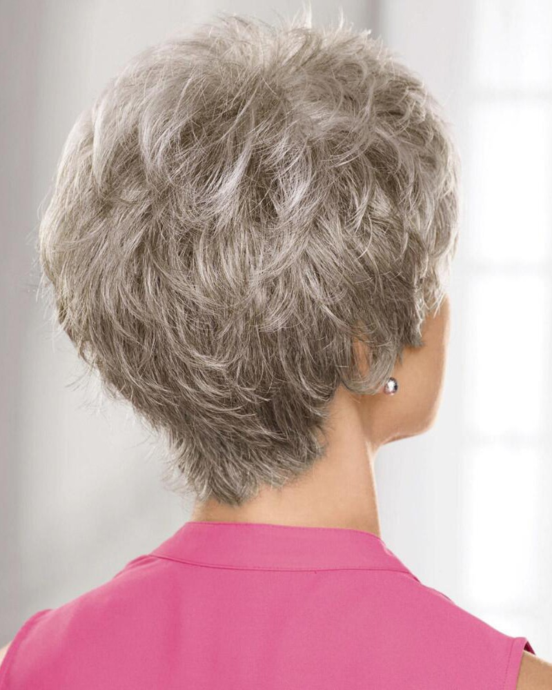 Piecey Pixie Wigs With A Lace Front And Short Texture Rich Layers