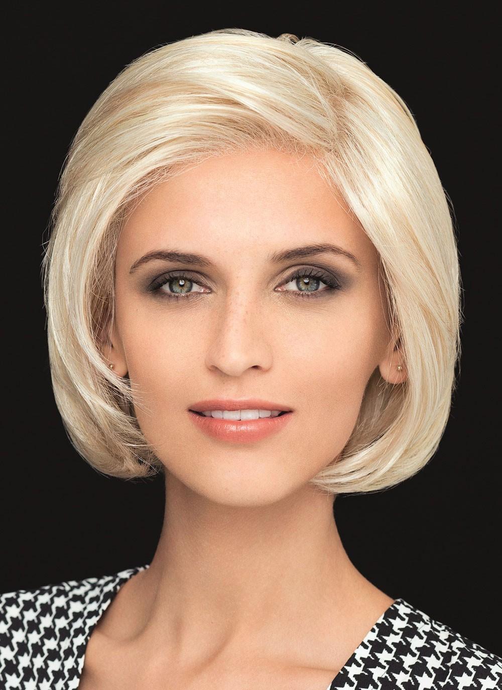 Short Classic Bob Lace Front Blonde Human Hair Wigs, Best Wigs Online Sale - Rewigs.com