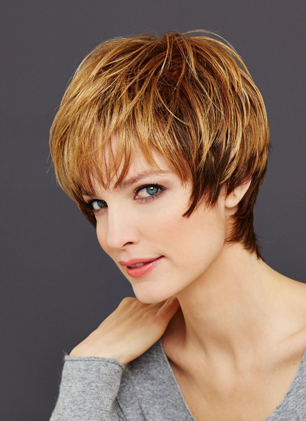 Short Boy Cut Ladies Straight Hair Wigs 17d771dd8c84