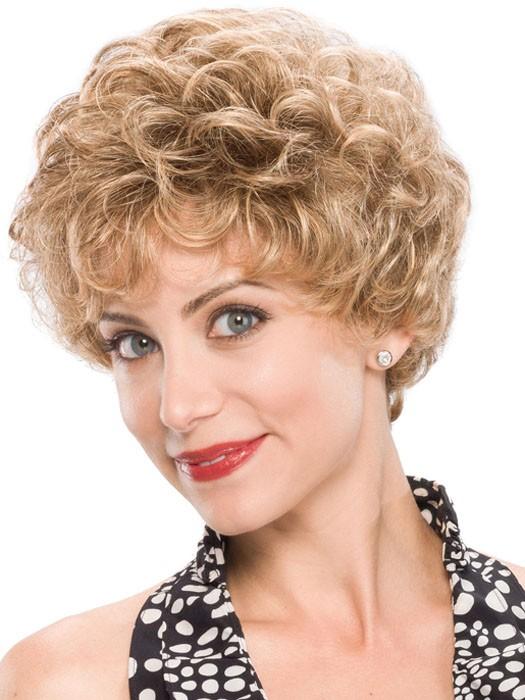 Short Classic Curly Women Synthetic Hair Wigs, Best Wigs Online Sale - Rewigs.com