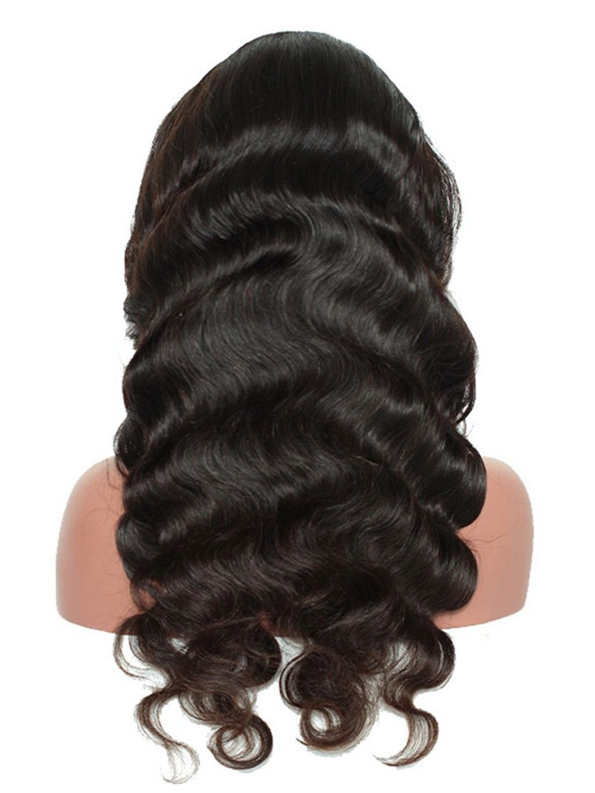 18 Inch Body Wave 13x6 Deep Part Lace Front Human Hair