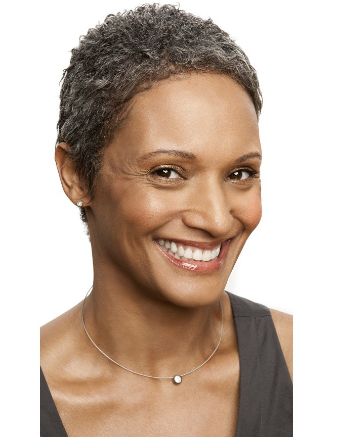 African American Short Natural Haircut Black Women Over 50