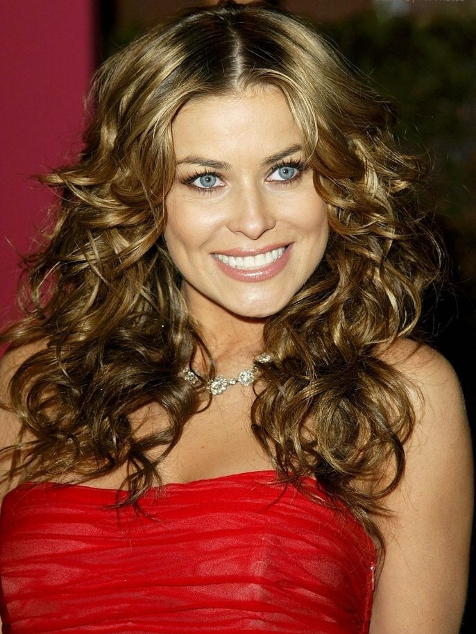 Carmen Electra Long Curly Lace Front Synthetic Hair Wig Rewigs
