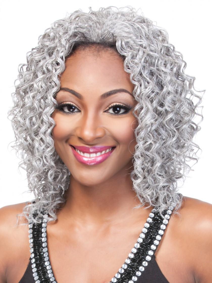 Curly Bob Half Synthetic Wigs Rewigs