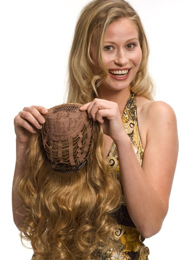 Medium Chestnut Blonde 100 Human Hair 3 4 Wigs Best Wigs