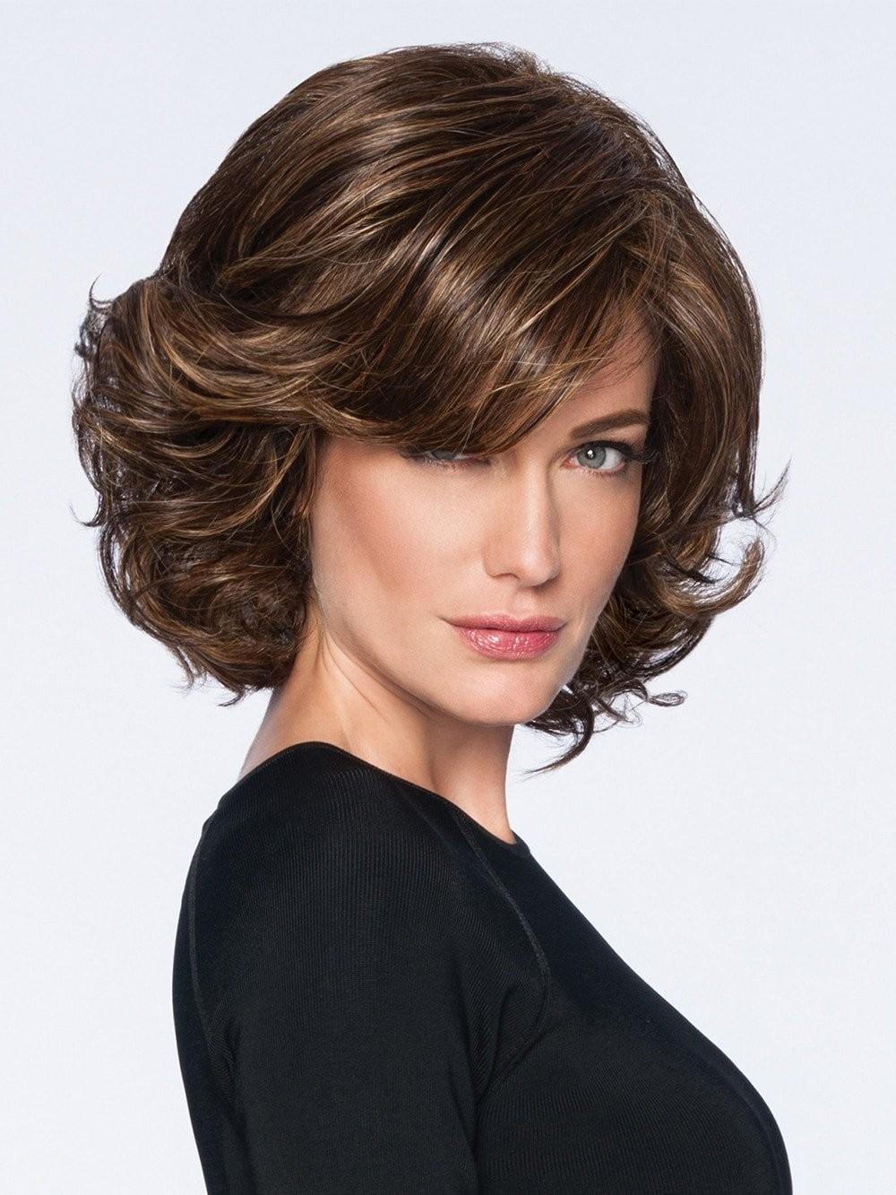 Mid Length Waved Bob Style Wigs Best Wigs Online Sale