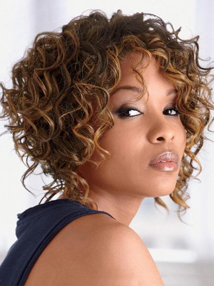 Deep Wavy Synthetic Short Hair Wigs Best Wigs Online Sale