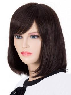 Bob Style Hair Side Bang Women s Human Hair Wig f5483246e5
